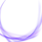 Purple swoosh satin smooth background
