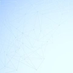Modern networking background template