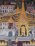 art of wallpaper at the Temple of the Emerald Buddha