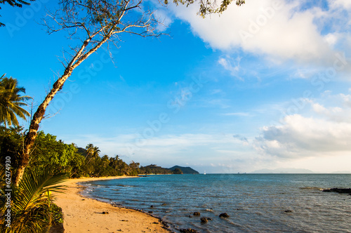 Early Morning On A Beach In Southern Thailand