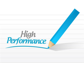 high performance message illustration