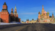 Red Square (Kremlin and St. Basil's Cathedral.) Moscow, Russia