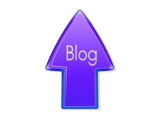 Blog flecha azul
