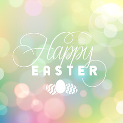 Easter Bokeh Background
