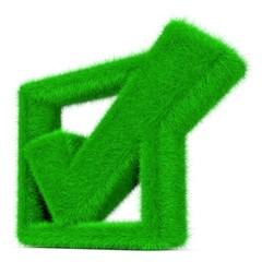 grünes Häkchen für erledigt