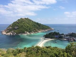 nangyuan island in chumphon thailand
