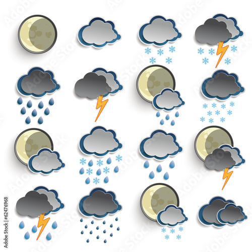 Night Weather Icons