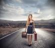 travelling girl