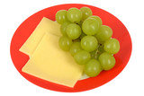 Grapes with Cheese