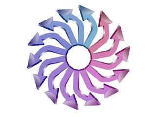 Logo flechas