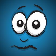 unsure cartoon face