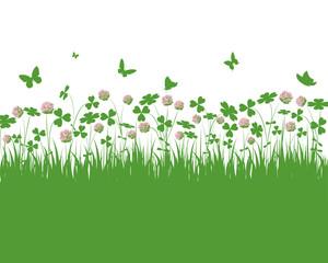 blumenwiese,ostern,blüte,blätter,klee,kleeblatt,glück,rasen,pink