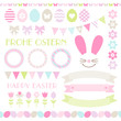 Icons Easter Set Pastel Mix