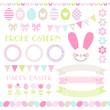 Icons Easter Set Pastel Mix
