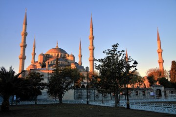 Blue Mosque at Sunrise, Istanbul