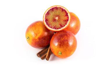 Sicillian oranges with cinnamon