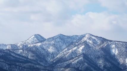 雪山(インターバル動画)