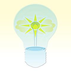 lampadina solare