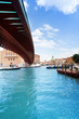 Under constitution bridge in Venice