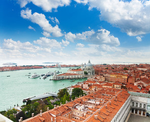 View of the central Venice