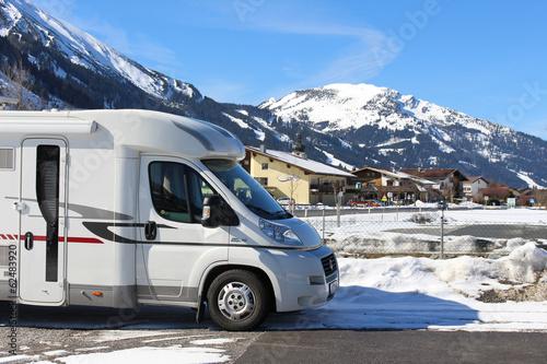 Wohnmobil Winter - 62483920