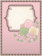 Easter card in vintage style, vector illustration