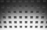 Abstract grey square background