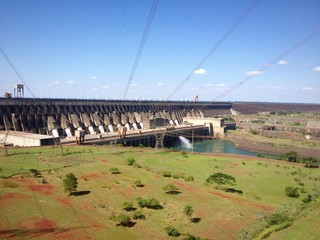 Itaipu dam, Brazil and Paraguay