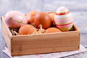 Ostern, Ostereier, Ei, Bunte Eier