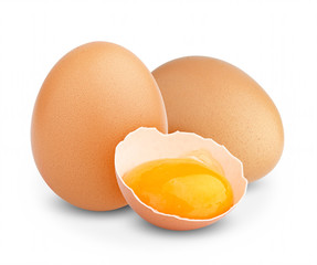 chicken broken egg