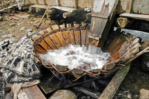 Traditional whirlpool