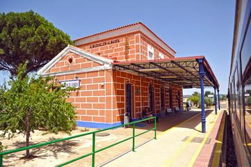 Estación de Almadenejos y Almadén, Ciudad Real, España