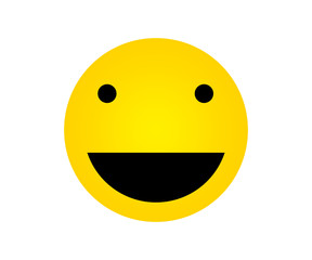 Yellow Face with Happy Expressions