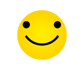 Yellow Face with Smile Expressions