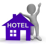 Hotel House Shows Vacation Accommodation And Rooms poster