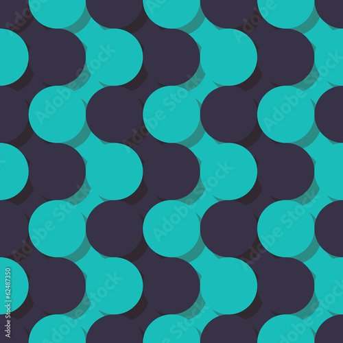 pattern of circles shadows