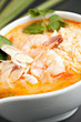 Thai Shrimp Soup with Rice