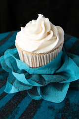 Fancy Vanilla Cupcake