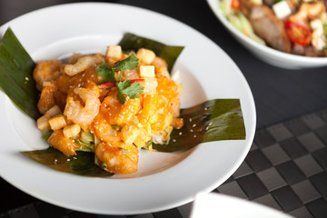 Authentic Thai Shrimp Dish