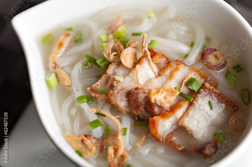 Thai Noodle Soup with Pork
