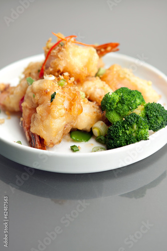 Crispy Thai Honey Shrimp Dish