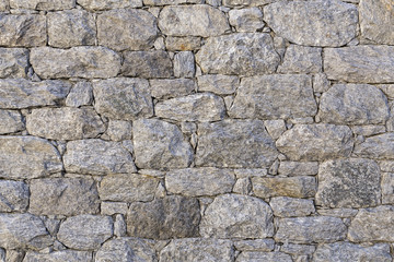 Texture of a stonewall