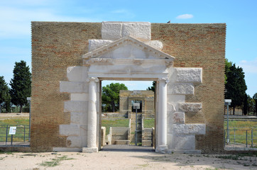 Entrance to an ancient amphitheater