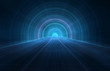 3D abstract futuristic background - Space travel - Teleport - 62492302