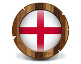England wood button