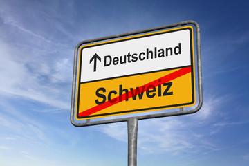 Richtung Deutschland