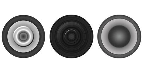 Set of Three Circles