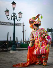 Carnaval de Venise, Costume de déguisement, Masque, Venise