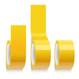 yellow scotch adhesive tape