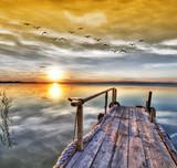 El lago de los sueños . HDR